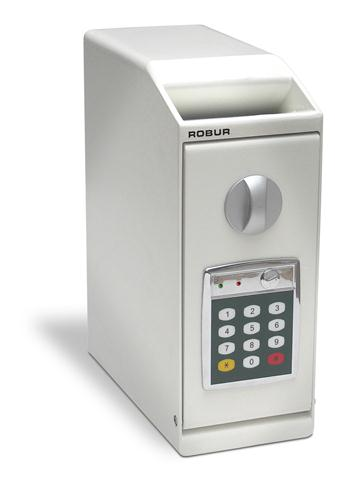 Deposit box with Time Delay lock